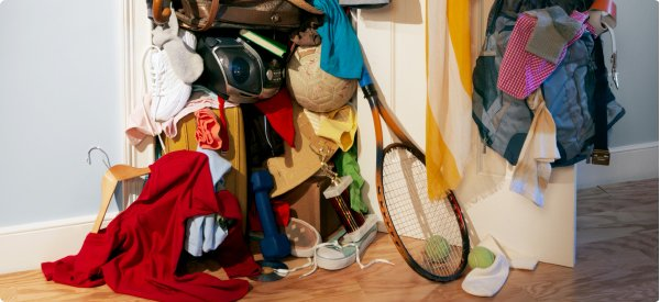 Charming The Cluttered Closet